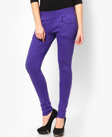 Picture of Lilac Solid Jegging