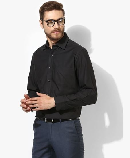 Picture of Black Fit Formal Shirt
